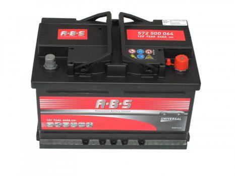 ABS 72Ah 572500064 akkumulátor