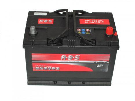 ABS 91Ah 591700074 akkumulátor