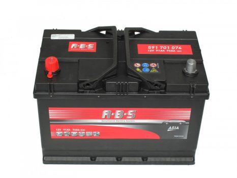 ABS 91Ah 591701074 akkumulátor