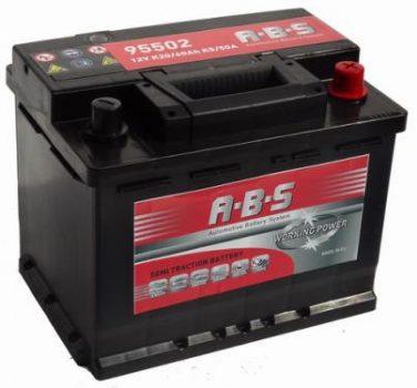 ABS 60Ah 95502 akkumulátor