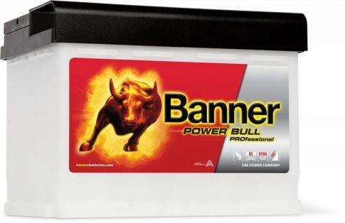 Banner 63Ah PROP6340 akkumulátor