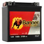 Banner 14Ah 51422,YTX16-BS akkumulátor