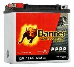 Banner 12Ah 514 01,ETX 14,YTX14-BS, YTX16-BS, YB16-B akkumulátor