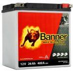 Banner 26Ah 530 01,ETX 30L,YTZ30L-BS, YB30L-B akkumulátor