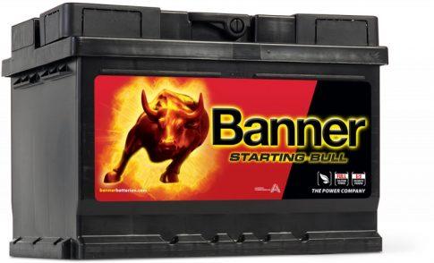 Banner 60Ah 56009 akkumulátor