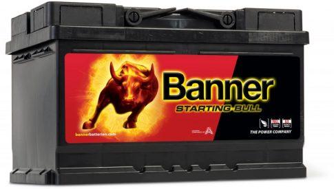 Banner 70Ah 57044 akkumulátor