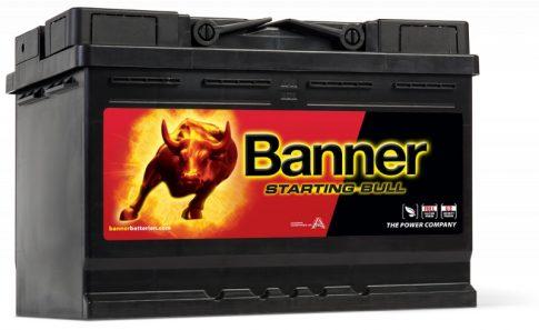 Banner 72Ah 57233 akkumulátor