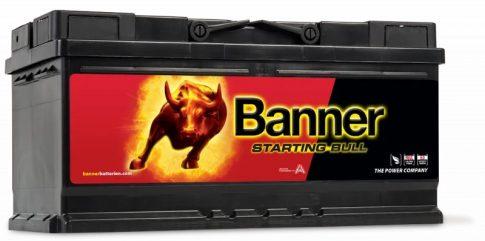 Banner 88Ah 58820 akkumulátor