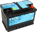 Exide 70Ah EK700 akkumulátor