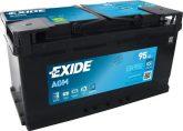 Exide 95Ah EK950 akkumulátor