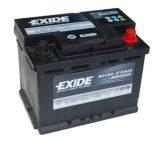 Exide 60Ah EL600 akkumulátor