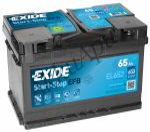Exide 65Ah EL652 akkumulátor