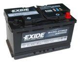 Exide 80Ah EL800 akkumulátor
