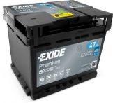 Exide 47Ah EA472 akkumulátor