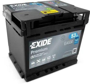 Exide 53Ah EA530 akkumulátor