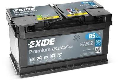 Exide 85Ah EA852 akkumulátor