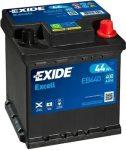 Exide 44Ah EB440 akkumulátor