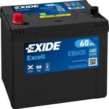 Exide 60Ah 56069(EB605) akkumulátor