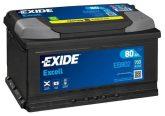 Exide 80Ah EB802 akkumulátor