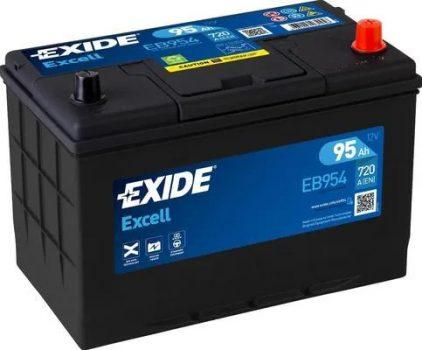 Exide 95Ah EB954 akkumulátor