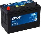 Exide 95Ah EB955 akkumulátor