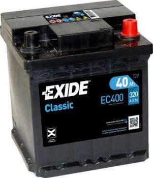 Exide 40Ah EC400 akkumulátor