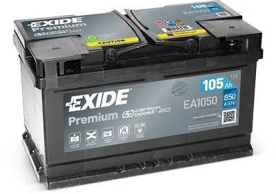 Exide 105Ah EA1050 akkumulátor