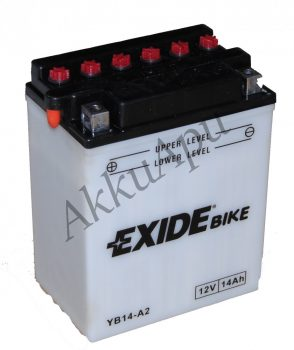 Exide 14Ah EB14-A2 akkumulátor