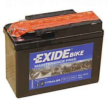 Exide 2.3Ah ETR4A-BS akkumulátor
