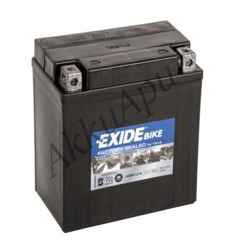 Exide 9Ah AGM 12-9 akkumulátor
