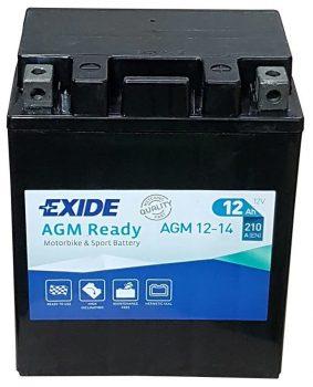 Exide 12Ah AGM 12-14 akkumulátor