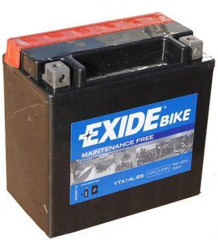 Exide 12Ah ETX14L-BS akkumulátor