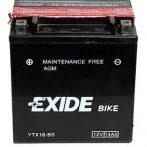 Exide 14Ah ETX16-BS akkumulátor