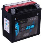 IntAct 12V 12Ah AGM Bal+ Motor Akkumulátor