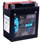IntAct 12V 6Ah AGM Jobb+ Motor Akkumulátor