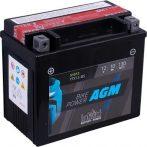 IntAct 12V 10Ah AGM Bal+ Motor Akkumulátor