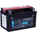 IntAct 12V 6Ah AGM Bal+ Motor Akkumulátor