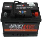 Kraftmann 55Ah 555350047 akkumulátor