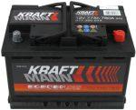 Kraftmann 77Ah 577360078 akkumulátor