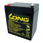 Long 12V 5Ah WP5-12 Bal+ Szünetmentes akkumulátor