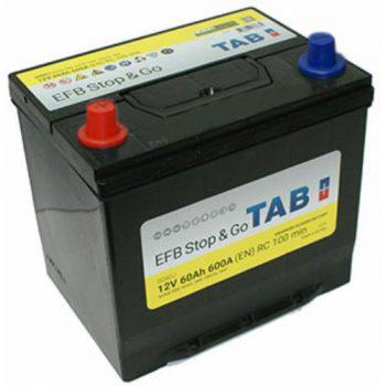 TAB EFB Stop & Go 60Ah 600A Bal+ TAB56069EFB