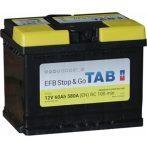 TAB EFB Stop & Go 60Ah 580A Jobb+ TAB56088