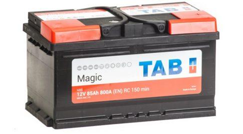 TAB Magic (SMF, ME) 85Ah 800A Jobb+ TAB58514