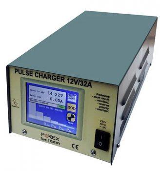 Forex T1232TFT Akkumulátor Töltő 12V 32A