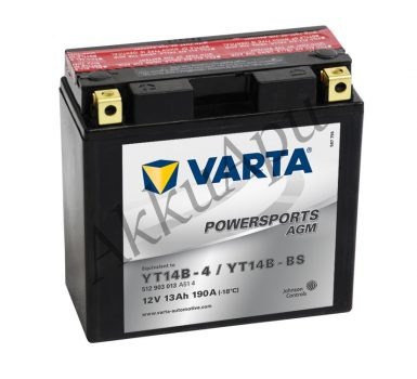 Varta 12Ah 512903013A514 akkumulátor