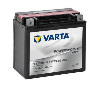Varta 18Ah 518902026A514 akkumulátor