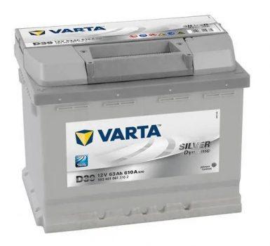 Varta 63Ah 5634010613162 akkumulátor