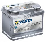 Varta 60Ah 560901068D852 akkumulátor