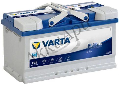 Varta 80Ah 580500073D842 akkumulátor
