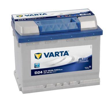 Varta 60Ah 5604080543132 akkumulátor